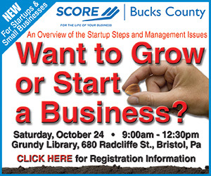 SCORE Bucks County is using this digital ad to increase its reach.