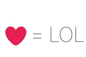 "Twitter released a heart icon to ""like"" posts."