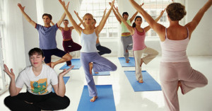 For me, yoga classes are like large networking events: Lots of movement, but little fruitful outcomes.