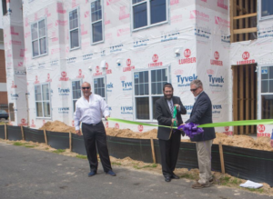 A ribbon cutting should have mark the completion of a building or project and be available for tours.