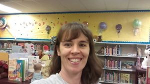 Being a mompreneur means I am able to volunteer at the library in my daughter's school, a highlight of my week.