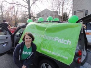 Four years ago I walked in the Hatboro Holiday Parade to help market Patch.com. Today, I am marketing myself, my company and my clients.