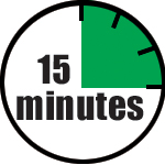 You can effectively market your business in as little as 15 minutes a day.
